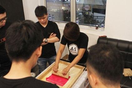Basic Screen Printing, 31 Juli 2016