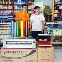 "Pelanggan As Medan yg membeli ""Paket Usaha Sablon Kaos Polyflex"""