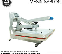 Mesin Press Kaos Hidrolik 1400watt Rhinotec RTC 01