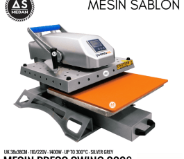 Mesin Press Kaos Swing 360° 1400watt Rhinotec RTS 02