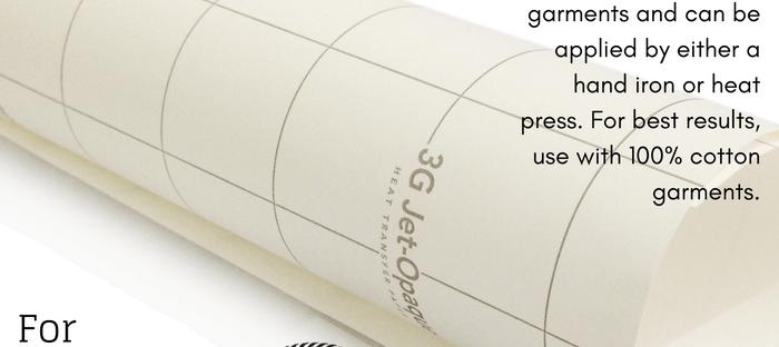 Transfer Paper 3G Jet Opaque