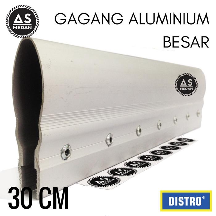 Gagang aluminium mulut besar