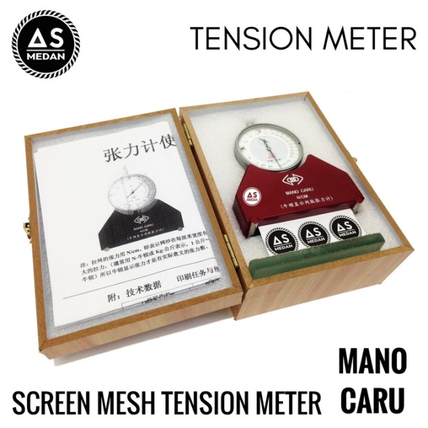 Screen tension meter