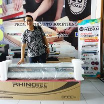 Pelanggan As Medan yg membeli mesin cutting Rhinotec RC-120