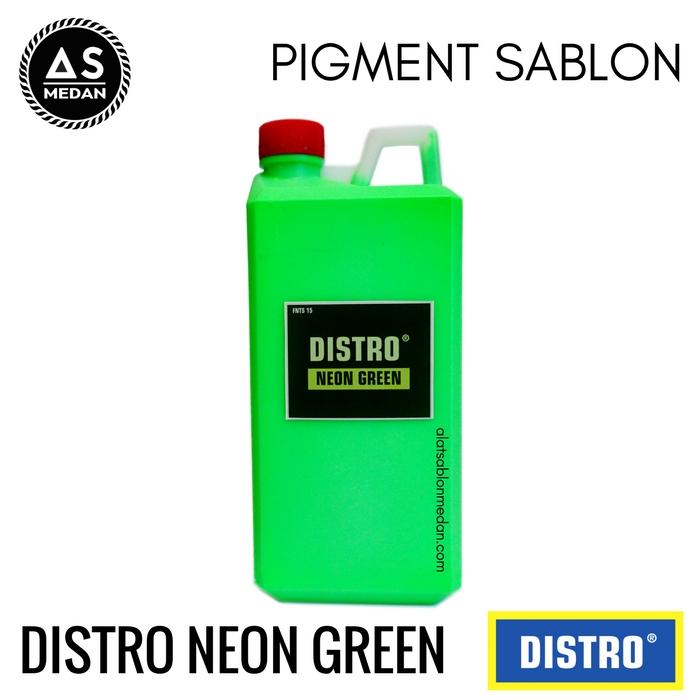 Biang Warna Sablon Distro Neon Green
