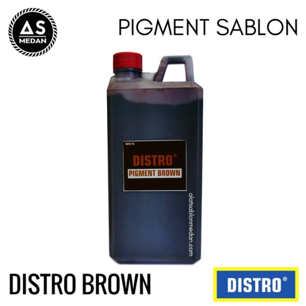 Biang Warna Sablon Distro Brown