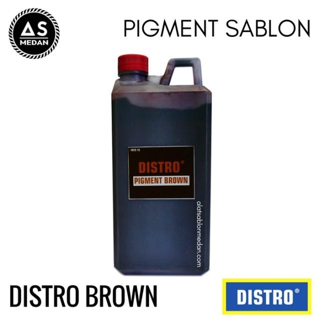 Biang Warna Sablon Distro Brown