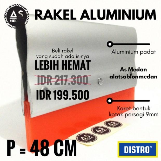 Alat Sablon Manual Rakel Aluminium
