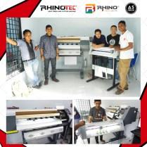 Pelanggan As Medan yg membeli mesin Rhinotec