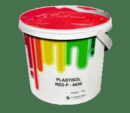 Tinta Sablon Kaos Ant Ink Plastisol Red 1kg