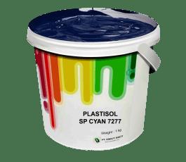 Tinta Sablon Kaos Ant Ink Plastisol Separasi Cyan 1kg