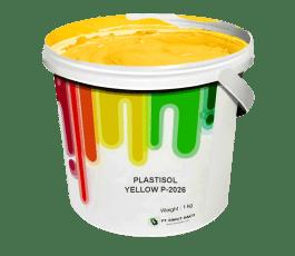 Tinta Sablon Kaos Ant Ink Plastisol Yellow 1kg