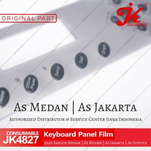 keyboard panel mesin cutting jinka