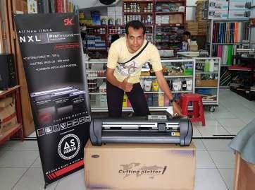 Mesin Cutting Jinka NXL PRO 721 LED CorelDraw | CV. As Medan