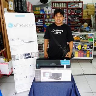 Mesin Cutting Sticker Silhouette Cameo 3 | CV. As Medan