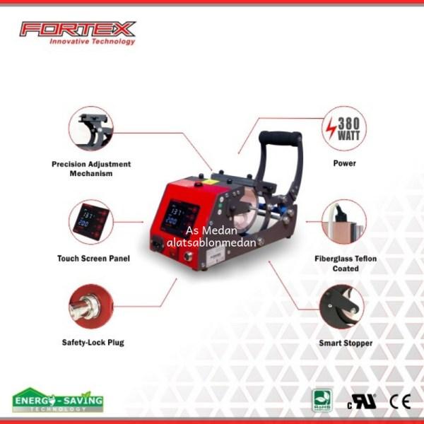 Mesin press mug Fortex