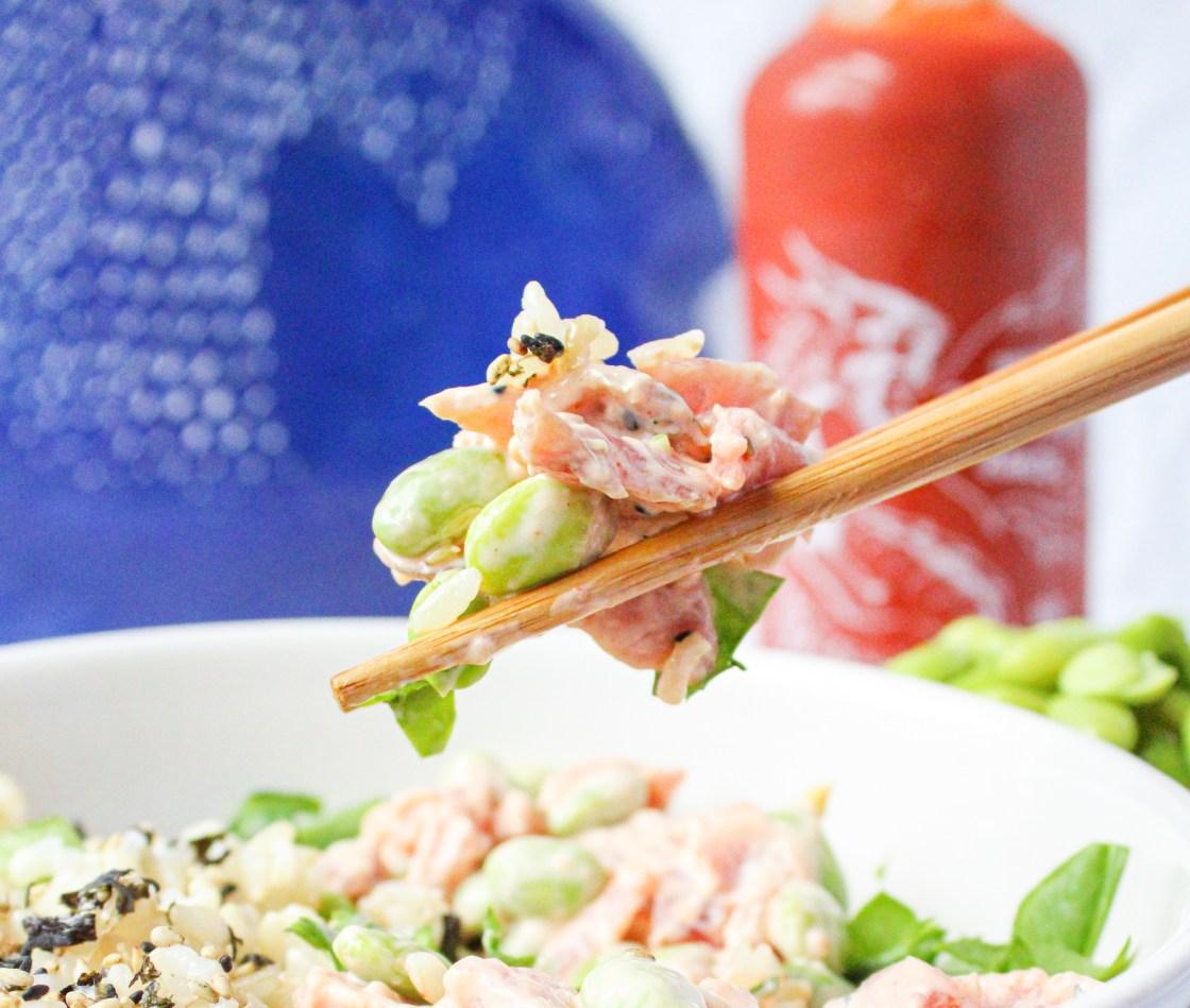 Spicy Tuna Lunch Bowl