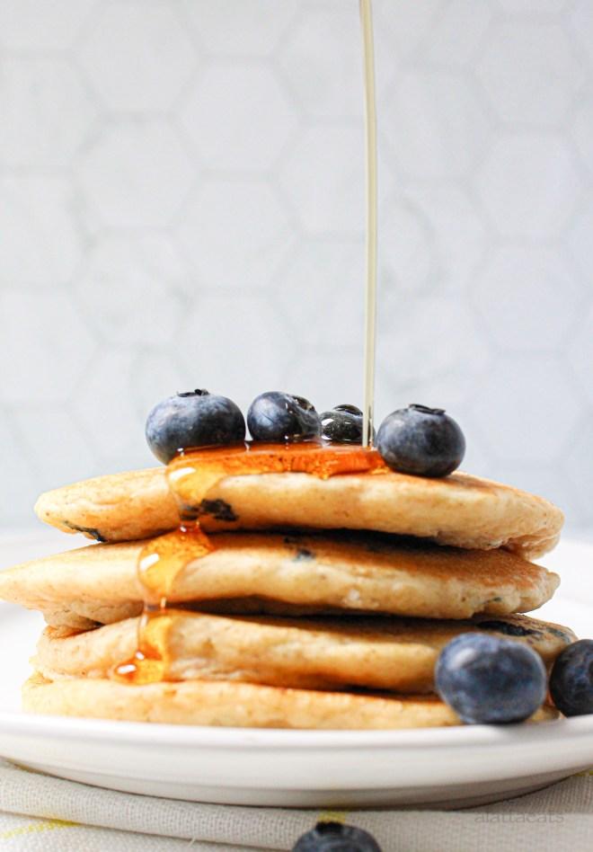 gluten-free multigrain pancakes featured image