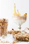 Gluten-Free Dairy-Free Granola Banana Bread Square