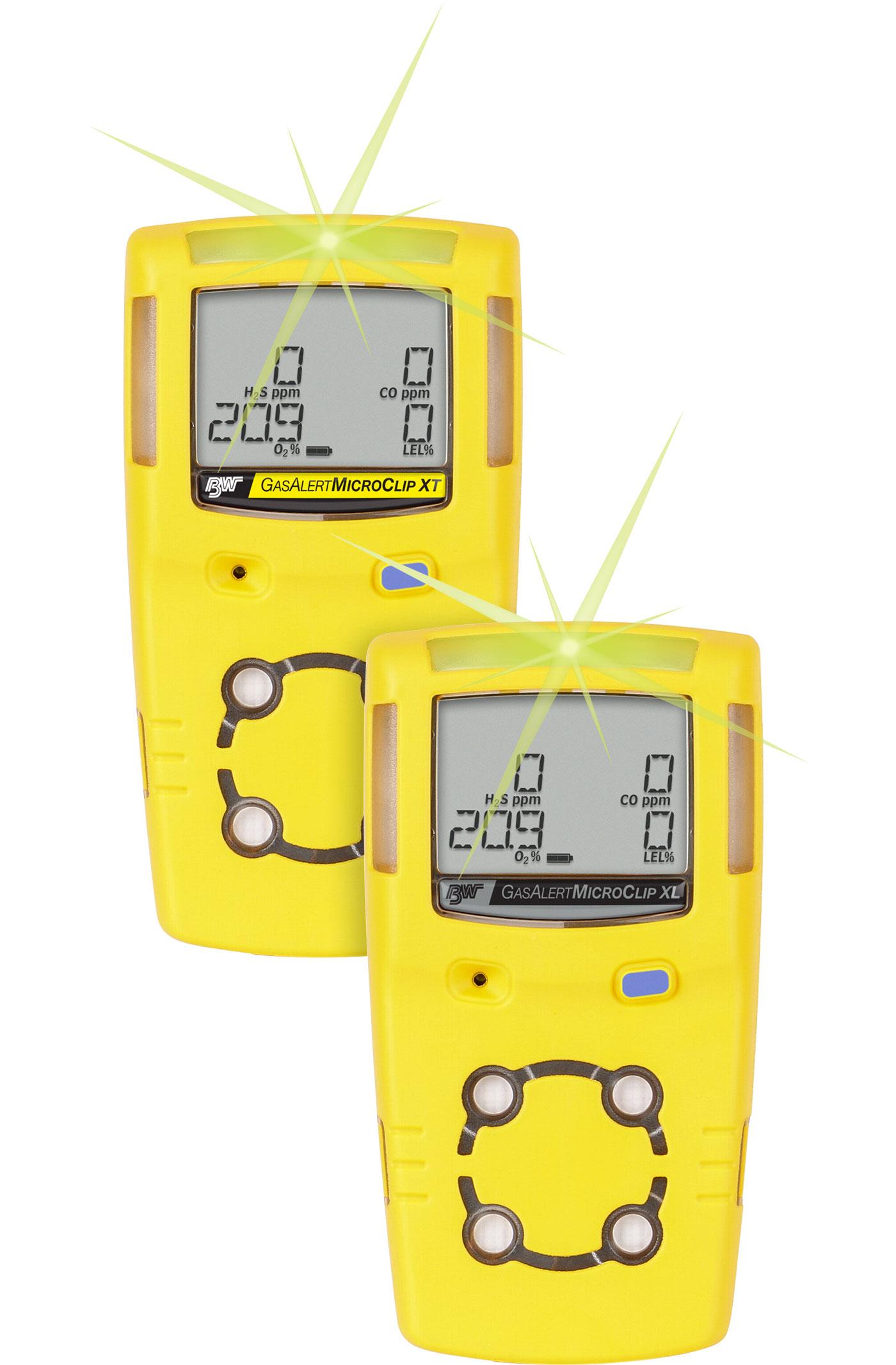 Multi Gas Detector Type AlertMicroClip