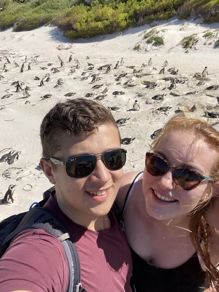 Selfie at Boulders Beach