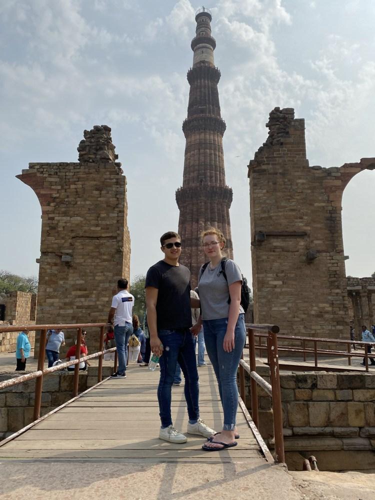 Selfie at Qutub Minar
