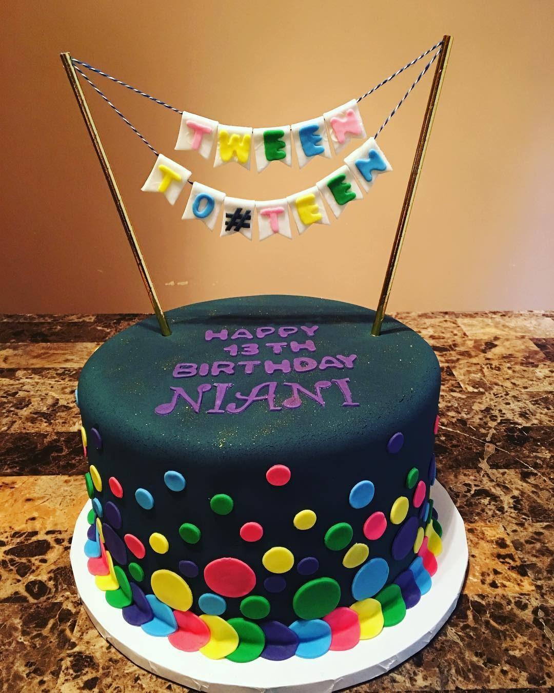 Tween To Teen Birthday Cake A La Vanille