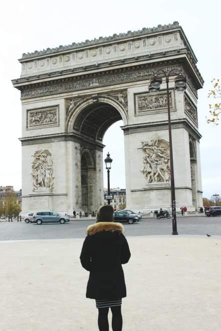 Frankreich-Paris-Arc-de-triomphe-2
