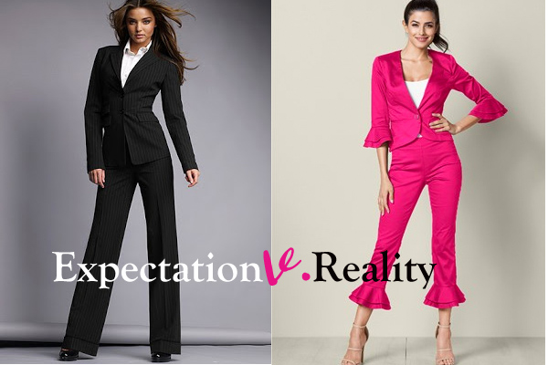 searching for professional attorney attire expectation vs. reality