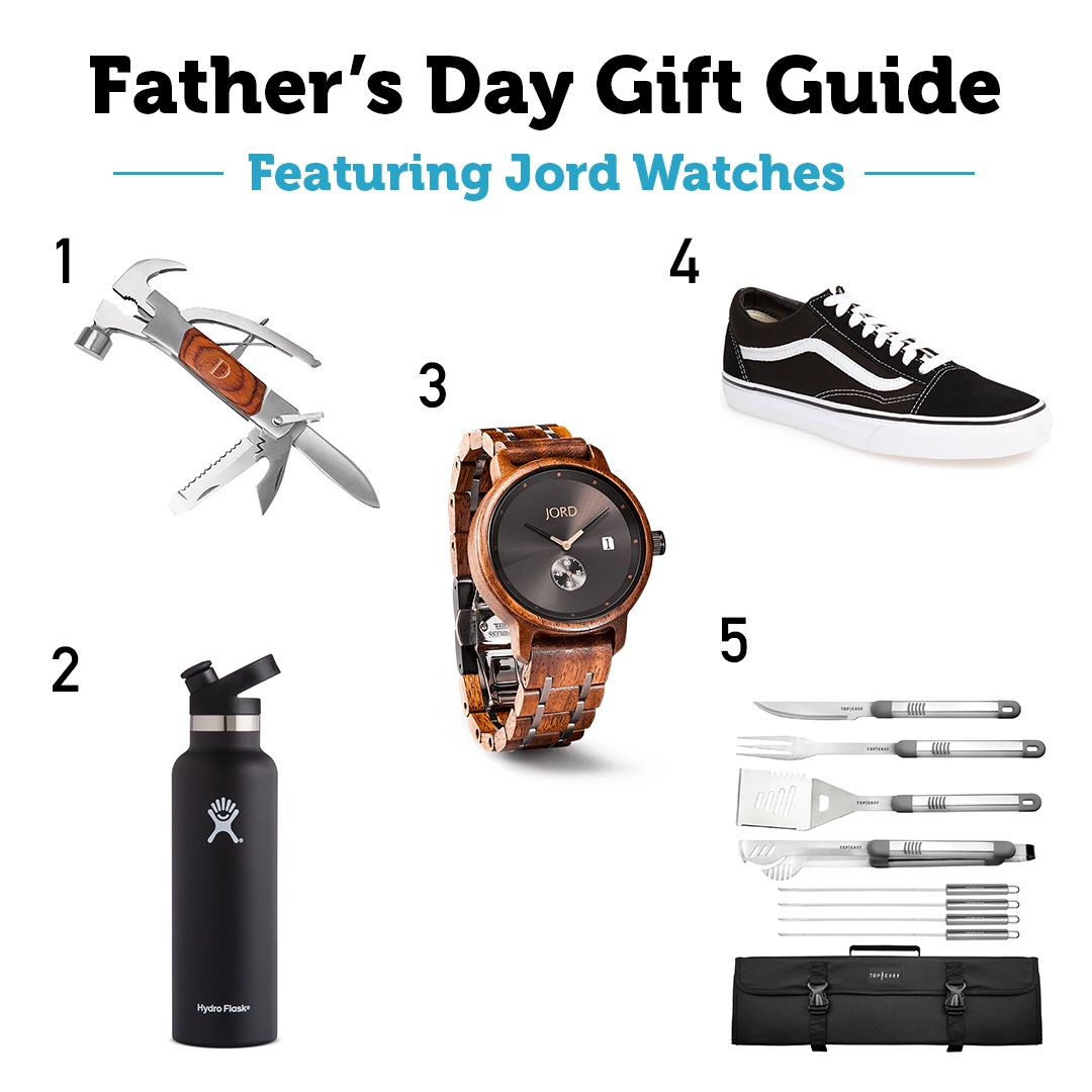 Father's Day gift guide featuring Jord Watches - Alayna is a