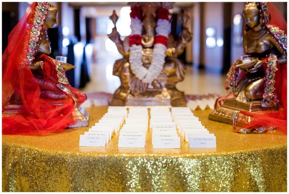 escort cards for indian wedding
