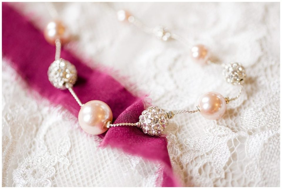 silver diamond and pearl necklace