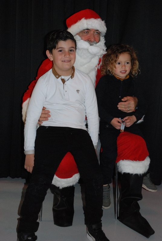 Kylian et son cousin