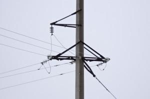 stalp electrica curent