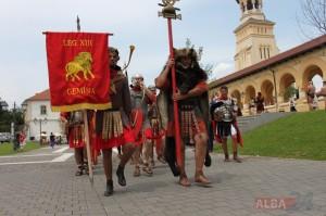 garda romana apulum romani legionari