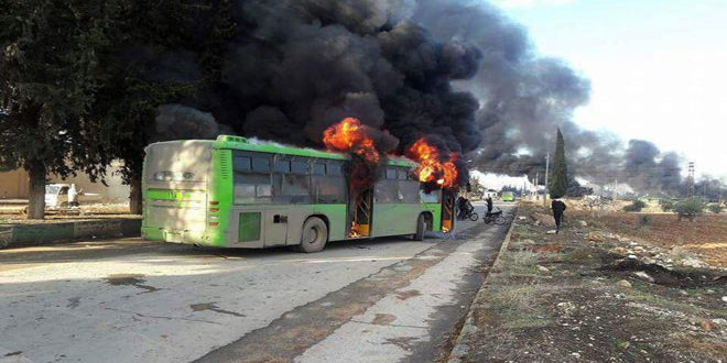 OBAMA'S PSYCHOPATHS ATTACK BUS FOR SICK PEOPLE NEAR FAW'AH; THE THIRD INTIFAADHA IS COMING THANKS TO TRUMP!; FOREIGN MERCENARIES STILL STUCK IN ALEPPO 1