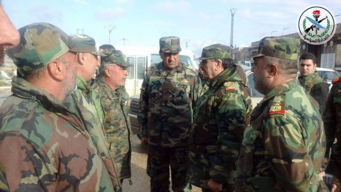 CITIZENS OF ALEPPO CALLED TO RETURN TO HOMES IN THE NORTHEAST; LT. GEN. AL-FURAYJ INSPECTS THE TROOPS BEFORE THE FINAL PUSH TO CLEAR ALEPPO OF ALL RODENTS; AL-MUHAYSINI DESPERATE; NEW AREAS LIBERATED FROM THE STENCH OF WAHHABISM; GEN. QAASSIM SULAYMAANI IN ALEPPO! 1