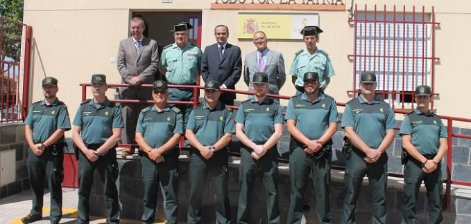 LosEquipos Roca de la Guardia Civil detienen en la regióna 613 personasen 9 meses