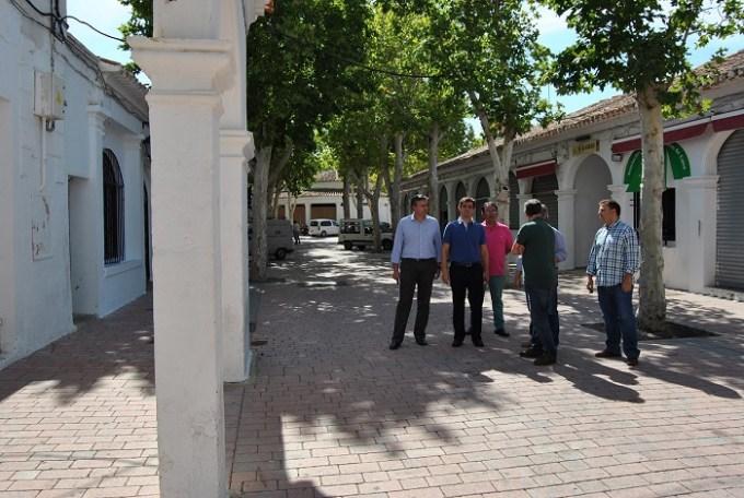 Puesta a punto del Recinto Ferial antes de que arranque la Feria de Albacete 2015