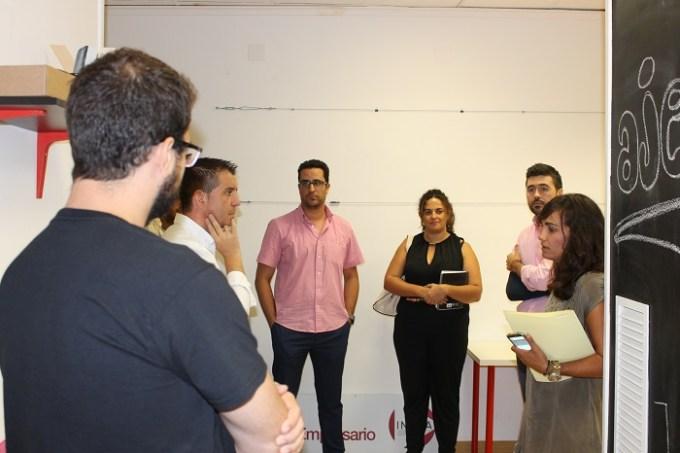 La Diputación asegura su apoyo a los Jóvenes Empresarios para esta legislatura