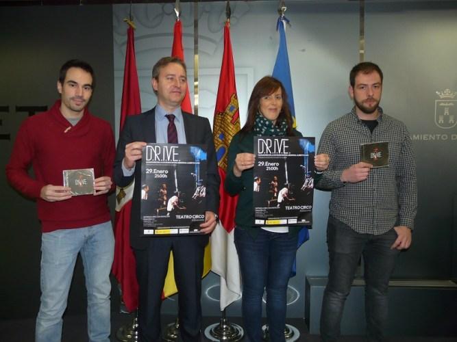 """El grupo DRIVE ganador del XXVIII Concurso de música moderna """"Memorial Alberto Cano"""""""