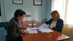 firma convenio AMEPAP y Aguas de Albacete
