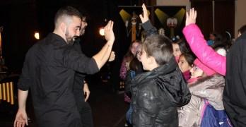 Más de 3.000 escolares de la provincia asisten en el Teatro de la Paz a un espectáculo didáctico de percusión
