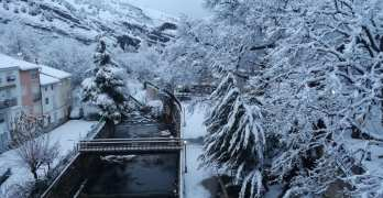 Impresionantes fotografías de la nieve cubriendo Nerpio