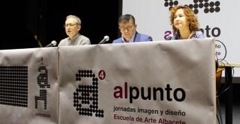 """La UP inaugura las Jornadas de Imagen y Diseño organizadas por la Escuela de Arte de Albacete """"alpunto4"""""""