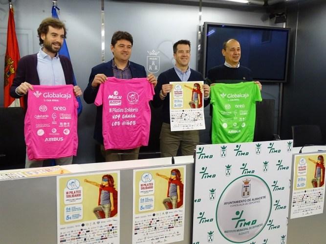 Albacete acoge este domingo su 'III Pilates solidario' en favor de los niños con cáncer de C-LM