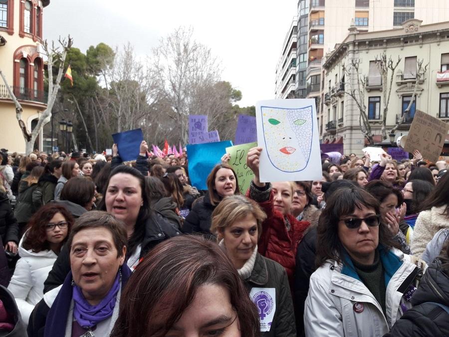 8-M | Albacete se echa a la calle para sumarse a una manifestación sin precedentes