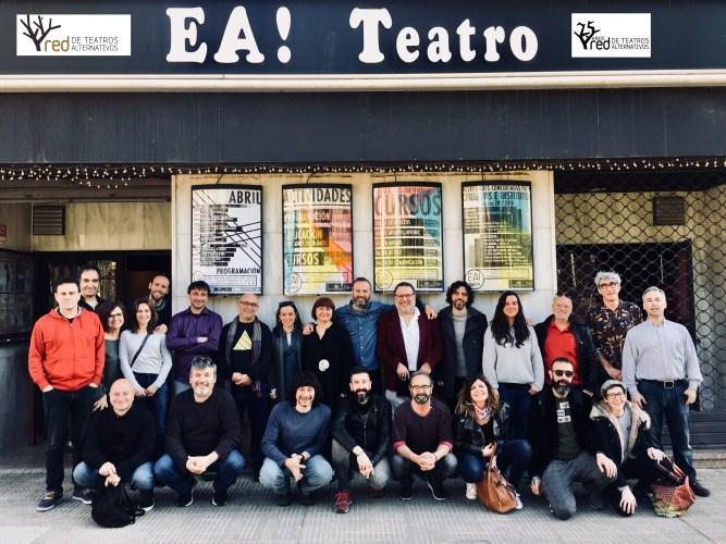 """La defensa del teatro como un """"patrimonio cultural común"""" de la mano de la Red de Teatros Alternativos"""