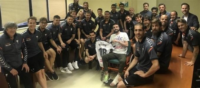 Pelayo Novo ya está en el Hospital Nacional de Parapléjicos de Toledo