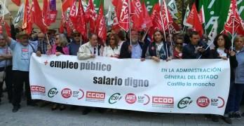 Los sindicatos exigen mejoras laborales y retributivas en la Administración General del Estado